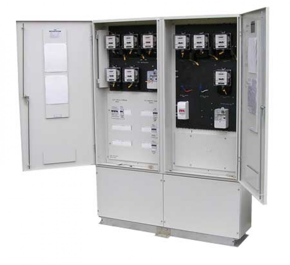 Commercial switchboards and metering
