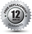 electricians free replacement guarantee